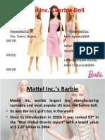 Mattel Inc. Barbie Doll