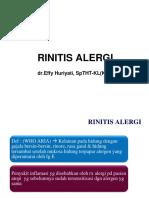 RINITIS ALERGI