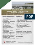 2018 Agricultural Diversification Tour