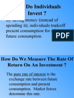 Calculation of HPY and Risks of Investment