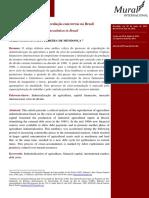 O capital financeiro e a especulação com terras no Brasil - Pitta e Mendonça