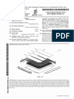 Tesla patent battery module
