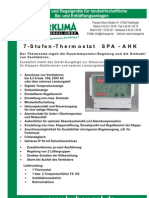 7-Stufen-Thermostat SPA-AHK