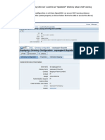 Eample of a userid change in a local directory driver scenario in SAP Sourcing