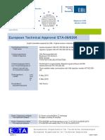 ETA 09 0295 for -05 Option 1 Approval Document ASSET DOC