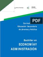 Anexo I Curriculum ESJA Economia y Administracion
