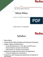 Mesha Masa