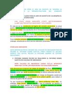 Notas Aymara Lunes