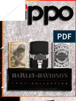 Harley Zippo Catalog 1997