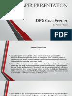 DPG Coal Feeder