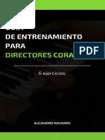 Guía de 12 Ejercicios Para Todo Director Coral