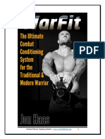 Warfit the Ultimate Combat Conditioning System