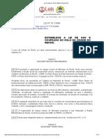 Lei Ordinária 16176 1996 de Recife PE