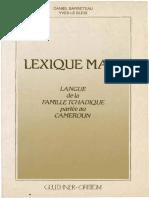 Lexique mafa