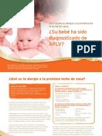 Su bebe ha sido diagnosticado con APLV