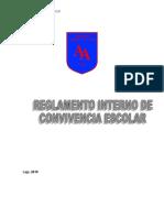 Reglamento Convivencia 2018 de PDF a Word