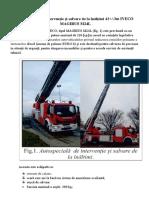 Autospecială de Intervenţie Şi Salvare de La Înălţimi IVECO M24L