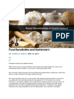 Food Sensitivities and Hashimoto