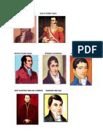 PRECURSORES DEL PERU