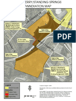 NEELY FERRY/STANDING SPRINGS ANNEXATION MAP