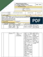 Planificacion Curricular Anual  SoporteTecnico 1eros