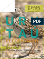 Urutau Electronico - No 6 - Diciembre 2017 - Ano 15 - Guyra Paraguay - Portalguarani