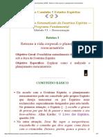 Estudos Espíritas _ ESDE - Retorno à vida corporal_ o planejamento reencarnatório.pdf