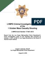 Oct. 1 shooting final report from the Las Vegas Metropolitan Police Department