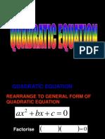 Quadratic Expressions