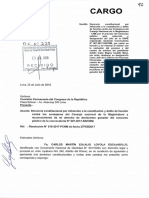 Denuncia Constitucional Nro 225 del 23.07.2018.