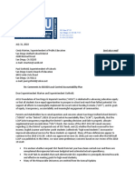 2018 07 31 Sdusd Lcap Letter From Aclu