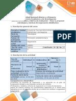 Guía de Actividades y Rúbrica de Evaluación - Paso 2 - Proponer Estrategias y Tácticas de Negociación Distributiva