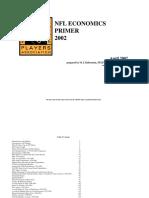 NFL Economics Primer April 2002