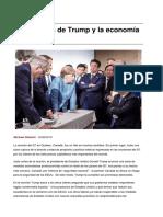 Las Rabietas de Trump y La Economia Mundial