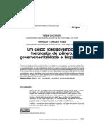 Um Corpo (Des)Governado - Hierarquias de Gênero, Governamentalidade e Biopolítica