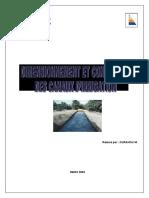 dimensionnement des canaux irrigation.pdf