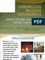 A Project on Disaster Management New
