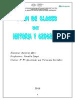 Planeamiento Historia y Geografía Ciencias Sociales