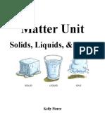 matter unit overview