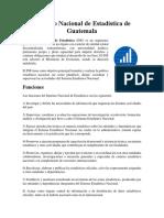 Instituto Nacional de Estadística de Guatemala