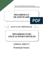 89001737 Desarrollo de Aplicaciones Móviles