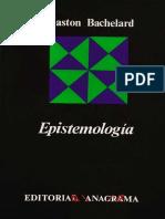 Bachelard, Gaston - Epistemologia.pdf