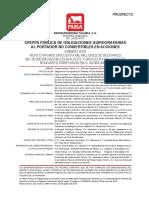+Prospecto Pasteurizadora Táchira OQ2018
