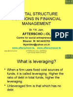Capital Structure Decisions in Financial Management