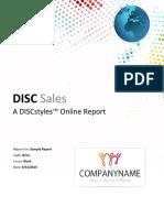 Disc Sales
