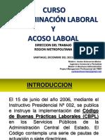 Curso Discriminacion Laboral Direccion Del Trabajo Stgo