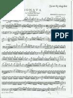 Sonata In F Maggiore Benedetto Marcello