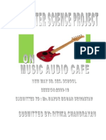 Music Audio Cafe