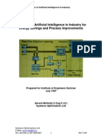 Artificial Intelligence for Industial Applications