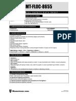 Msds Mt-floc-8655 (1) (Ingles)